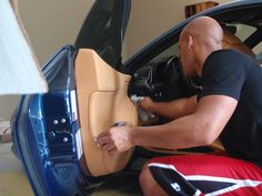 Cleaning the interior with a ph balanced cleaner will help avoid causing any damage to the leather and plastic trim