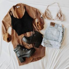 spring hipster outfits best outfits - School Look Teen Fashion Outfits, Mode Outfits, Look Fashion, Outfits For Teens, Trendy Fashion, Fashion Women, Trendy Style, Fashion Clothes, Street Fashion
