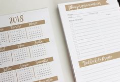 Planner 2017 {Download) Tamanho A5 - Free