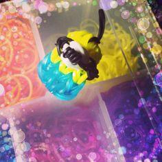 Minion and Evil Minion Rainbow Loom Charm by DiyCraftHub on Etsy, $2.00