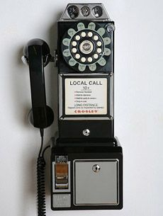 Had to always carry an extra dime for emergency phone calls....