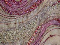fiber art - beading