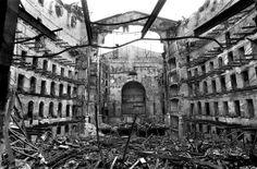 El incendio del Teatro Liceo de Barcelona