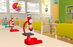 Sunny Simblr | Mellow Bay Public School. Science classroom.