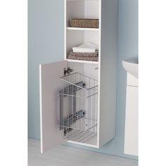 Pyykkikori ulosvedettävä Pusheen, Lockers, Locker Storage, Cabinet, Furniture, Home Decor, Clothes Stand, Decoration Home, Room Decor