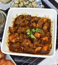 Red velvet cupcakes and mutton curry recipes are shared from Stuffed Feeling's Mother's Day lunch with a twist Spicy Recipes, Curry Recipes, South African Recipes, Ethnic Recipes, Mutton Curry Recipe, Dinner Recipes, Dessert Recipes, Desserts, Lamb Dishes