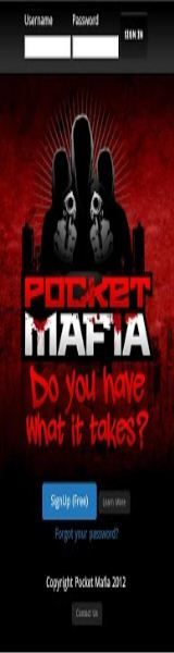 Pocket Mafia has made an app you can't refuse. Every day, thousands of players match wits by building teams of mafia members that fight for control over various cities and – ultimately – the entire game. This wonderfully addictive MMORP (Massively Multiplayer Online Role-playing Game) is available for free at www.pocketmafia.com, Android, iTunes, Windows and Blackberry.