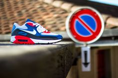Preview: Nike Air Max 90 Lunar C3.0 (Blue, Grey & Red