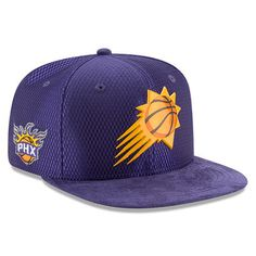 e913d5cceb9 Phoenix Suns New Era Youth 2017 NBA Draft Official On Court Collection 9FIFTY  Snapback Hat - Purple