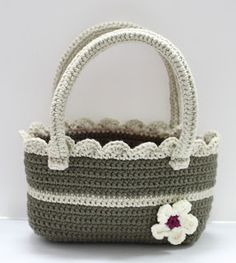 Free Crochet Pattern: Bobble-licious Bag Crocheted bags ...