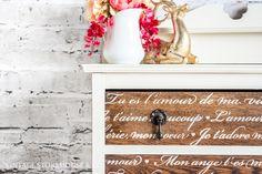 Meet Elizabeth – Cotton & Roasted Chestnut Dresser