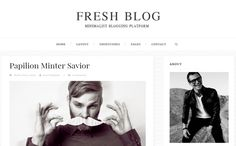 Free Fresh Blog Blogger Template | Blogger Templates Gallery
