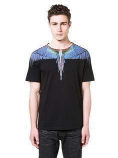 Marcelo Burlon Fall 2016 T-shirt: Tres Lagos blue Fall Winter, Man Shop, Fall 2016, Mens Tops, T Shirt, Blue, Shopping, Fashion, Supreme T Shirt