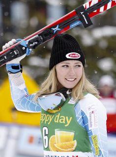 U.S. skier Mikaela Shiffrin returns from injury to win World Cup slalom event