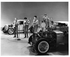 """I Get Around"". The Beach Boys in The Ed Sullivan Show 1964"