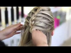 How to Braid Your Own Hair For Beginners   How to Braid   Braidsandstyles12 - YouTube