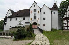 Česko, Seeberk - Středověký hrad