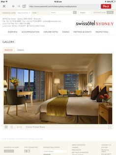 We stayed Swissotel Sydney Sept 2014 in room The best service ever. Hotel S, Sydney, Beautiful Places, Dining, Room, Bedroom, Food, Rum, Restaurant