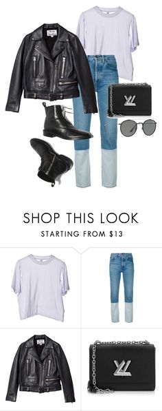 """""""Untitled #22550"""" by florencia95 ❤ liked on Polyvore featuring Ports 1961, Acne Studios, Louis Vuitton and Ray-Ban"""