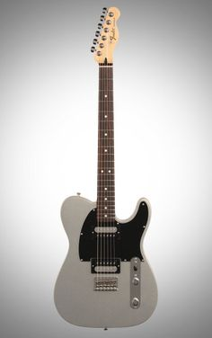 Fender Standard Telecaster HH Electric Guitar, with Rosewood Fingerboard, Ghost Silver Fender Standard Telecaster, Fender Telecaster, Electric Guitar Kits, Custom Electric Guitars, Musical Instruments, Sexy Ass, Notes, Dreams, Silver