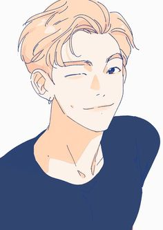 Manga Art, Anime Manga, Anime Art, Bts Anime, Bts Rap Monster, Bts Drawings, Bts Chibi, Kpop Fanart, Cute Cartoon Wallpapers