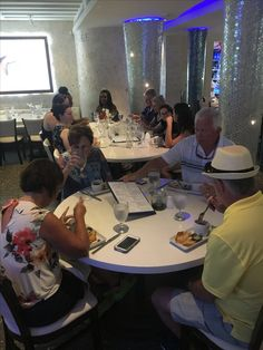 Trying Cuban picadillo at Larios on 7/20/2017 South Beach public dinner tour