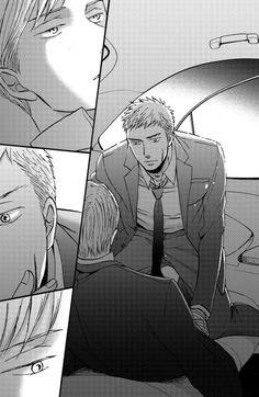 Saezuru Tori wa Habatakanai by Yoneda Kou - the look in Doumeki's eyes... He is so going to devour Yashiro!