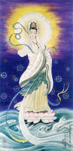 Buddhism, Art - Goddesses, Muses & Spiritual Art - Freydoon Rassouli & Others