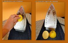 pulire piastra ferro da stiro