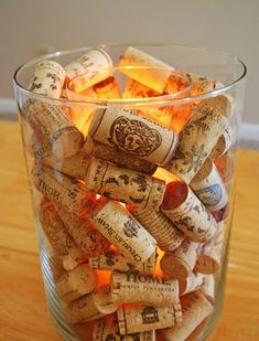 Cómo reutilizar corchos de botellas de vino