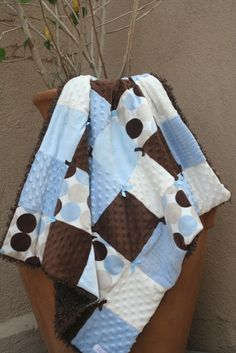 easy baby quilt I want to make