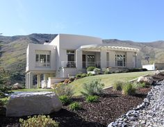 Modern mountaintop masterpiece located in a private gated community in Salt Lake City's Emigration Canyon.