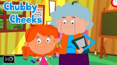 Chubby Cheeks Dimple Chin Rhyme with Lyrics and Action - English Nursery...