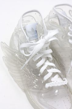 Adidas | Jeremy Scott    I could wear my crazy socks with these :-) I WANT THEM NOW!