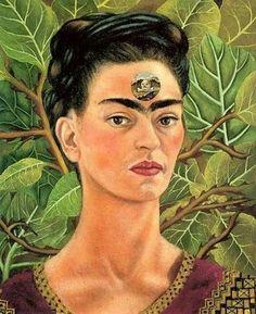 Autorretrato com Diego - Frida Kahlo e suas pinturas ~ Pintora comunista e revolucionária