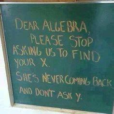 Teacher humor- love it
