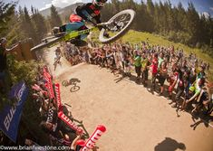 Photo of Brendan Fairclough in Whistler, British Columbia, Canada. Crankworx Whip Off milliseconds before the camera tap. (See video 1 for more detail! Mountain Bike Action, Mountain Biking, Roller Derby, Motocross, Mountian Bike, Pink Bike, Downhill Bike, Old Time Radio, See Videos