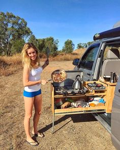 Breakfast in the bush. @explorewithlau preparing the pancakes on a beautiful morning in Far North Queensland. #breakfast #coffee #sun #diy #offgrid #vanlifers #vanlife #vanlifediaries #vanlifeexplorers  #vanlifemovement #vancrush #vanliving #fnq #seeaustralia #adventure #explore #travel #outdoors #nature #wanderlust #projectvanlife #outsideculture #roadtrip #instagood #ourcamplife #travelgram #teamtravelers #modernoutdoors #goexplore #discoverearth