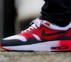 Nike Air Max 1 C2.0 – White / Black – Light Crimson – Dark Grey