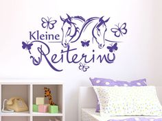 Amazing Wandtattoo Schriftzug Kleine Reiterin Wandtattoo Wandspruch Reiterin Pferde