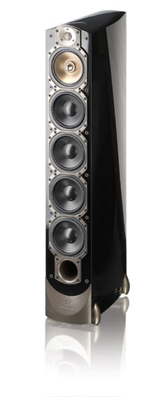 Par de Caixa Torre Paradigm Signature S8 Piano Black