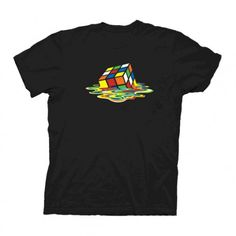The Big Bang Theory Melting Rubik�s Cube T-Shirt