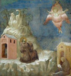 GIOTTO Saint François recevant les stigmates
