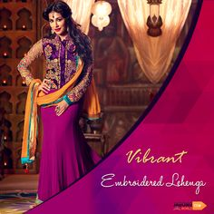 Chitrangada Singh Purple Georgette Designer Lehenga Choli Chitrangada singh Purple georgette lehenga choli lining designed with embroidery, resham, zari, bead, lace and patch border work. Available with matching velvet choli and chiffon dupatta. Bollywood Lehenga, Net Lehenga, Lehenga Style, Bridal Lehenga Choli, Bollywood Fashion, Bollywood Actress, Lehenga Choli Online, Indian Sarees Online, Hyderabad