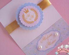 Convite Princesa luxo
