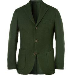 SlowearMontedoro Slim-Fit Woven Wool-Blend Blazer MR PORTER