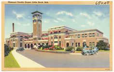 """20. Missouri Pacific Depot: This depot opened in 1921 and is also referred to as """"Union Station"""". The station is still in service and is listed on the National Register of Historic Places."""