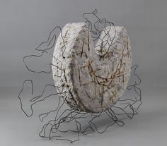 #Balanced  #Abstract #geometric #pappmache #wire_sculpture #wire #sculpture Wood Sculpture, Sculptures, Wire, Abstract, Create, Metal, Paintings, Home Decor, Carving Wood