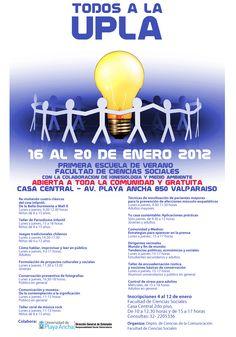 """""""Todos a la UPLA"""". Escuela de Verano 2012"""