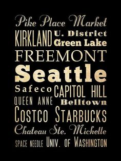 Seattle Bus  / Transit / Subway Roll / by LegacyHouseArt on Etsy, $44.95